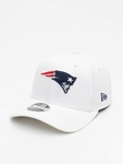New Era NFL New England Patriots White Base Snapback Caps image number 0