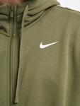 Nike Repeat Fleece Full Zip Hoodie Black/Reflective Silvern image number 3