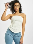 Missguided Jersey Bandeau Corset Body Cream image number 0