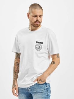 Only & Sons onsRamones Pocket T-Shirt Aquatic