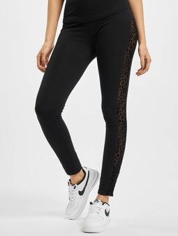 Urban Classics Ladies Flock Lace Stripe Leggings