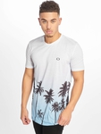 Criminal Damage Palm Tree T-Shirt Blue Multi image number 2