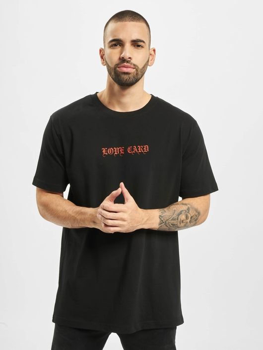 Mister Tee Love Card T-Shirt Black image number 1