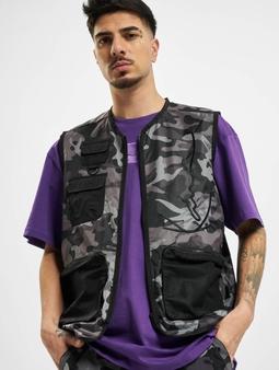 Karl Kani Kk Signature Camo Utility Vest Black