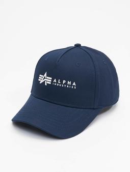 Alpha Industries Alpha Snapback Cap Rep Blue