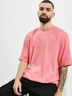 Adidas Originals Rib Detail T-Shirt Hazy Rose