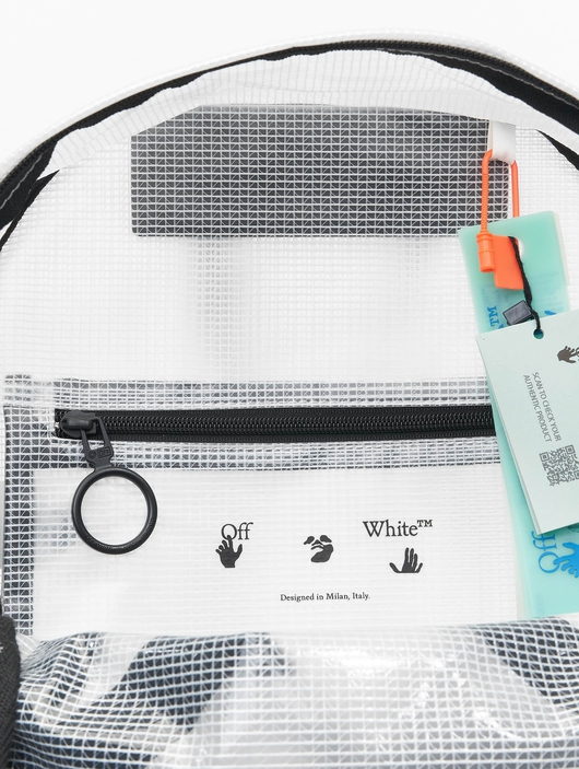 Off White Backpack White Blac image number 7