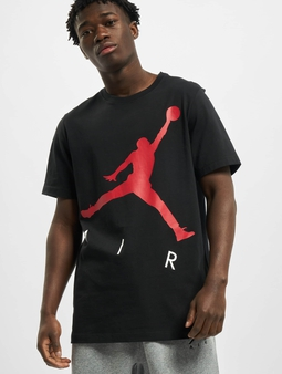 Jordan Jumpman Air Hbr T-Shirt Black/Gym Red
