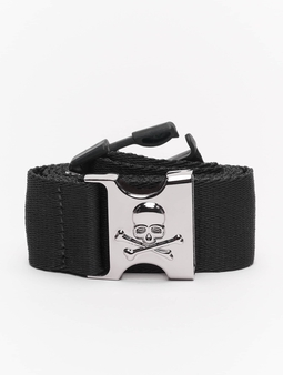 Urban Classics Skull Buckle Belt