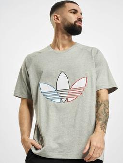adidas Originals Tricolor  T-skjorter grå