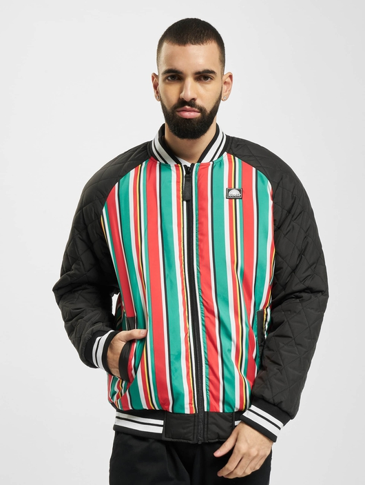 Southpole Stripe College College Jackets image number 2