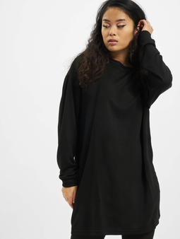 Urban Classics Ladies Modal Terry Crew Dress