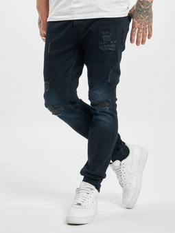 2Y Skinny Jeans Dark Blue