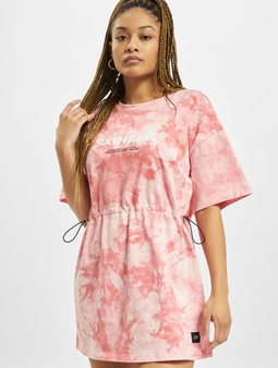 Sixth June Tie Dye Dress Pink