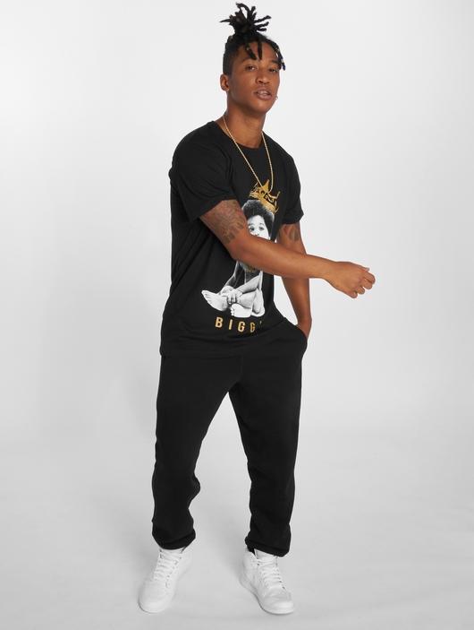 Merchcode Biggie Crown Child T-Shirt Black image number 3