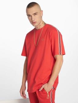 Criminal Damage Wise T-Shirt Red/Burgundy