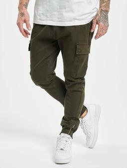 Vsct Clubwear Norton Baggy Gargo Cargo Pants Khaki