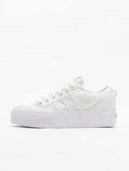 Adidas Originals Nizza Platform Sneakers Ftwr White/Ftwr White/Ftwr