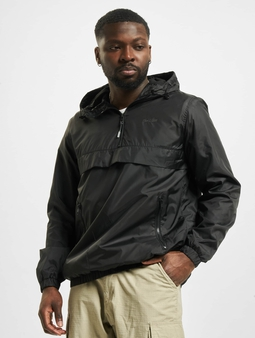 Jack & Jones jjHunter Light Anorak Jacket Black