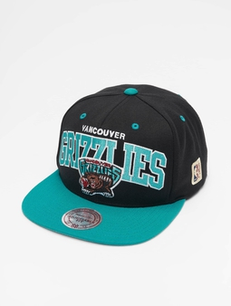 Mitchell & Ness Vancouver Grizzlies HWC Team Arch Snapback Black/Teal