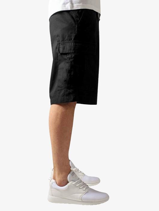 Urban Classics Camouflage Cargo Shorts Black (W 28 black) image number 3