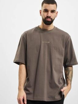 adidas Originals Rib Detail T-skjorter oliven