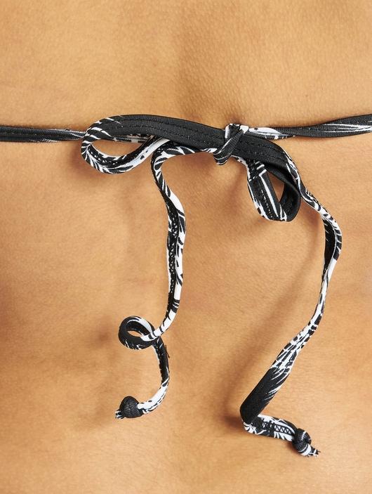 Urban Classics Ladies Palm Bikini Black/White image number 3
