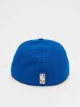 New Era NBA Basic NY Knicks 59Fifty Cap Blue/Orange (7 - 55, image number 1