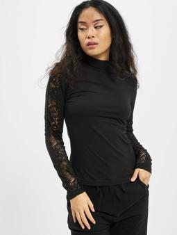 Urban Classics Ladies Lace Striped LS Longsleeve