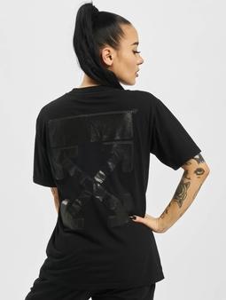 Off-White Arrow Casual T-skjorter svart