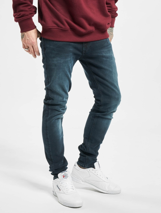 Jack & Jones jjiLiam Jjoriginal Agi 004 Skinny Jeans Blue Denim image number 0