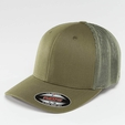 Flexfit Mesh Cotton Twill Trucker Cap Dark Grey
