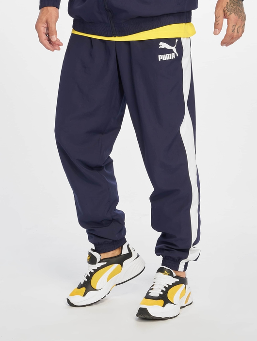 Puma Iconic T7 Track Pants Peacoat image number 2