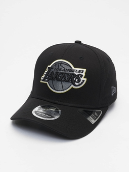 New Era Nba Properties Los Angeles Lakers Neon Pop Outline 9fifty Snapback Cap Black