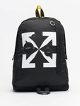 Off White Backpack Black Whit image number 0