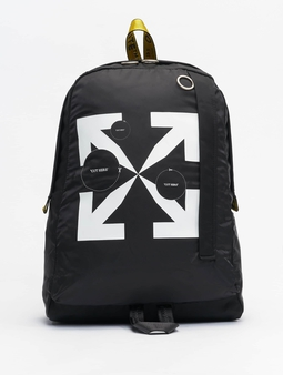 Off White Backpack Black Whit