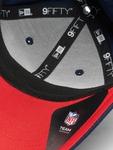 New Era NFL New England Patriots Team Stretch 950 Snapback Caps image number 2