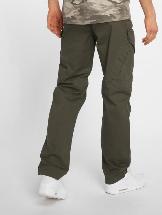 Brandit Adven Slim Fit Men Cargo Pants Olive image number 1