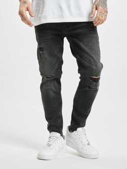 2Y Gresham  Slim Fit Jeans svart