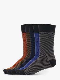 Urban Classics Stripes And Dots 5-Pack Socks