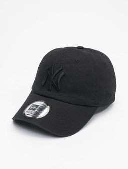 New Era Mlb Properties New York Yankees Team Cc 9twenty Snapback Cap Black/Black