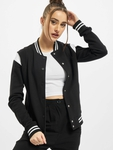 Urban Classics Ladies Organic Inset College  College Jackets image number 0